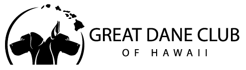 Great Dane Club of Hawaii Logo